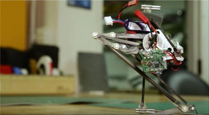 Salto de robot