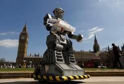 Robot-standbeeld