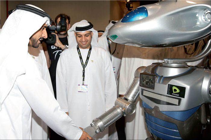 De nieuwe robot