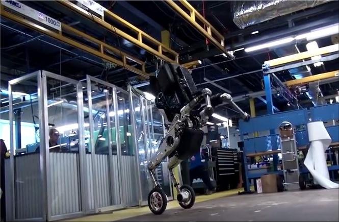 De robot Handle